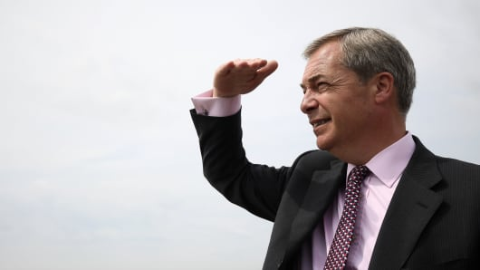 UKIP Leader Steps Down Effective Immediately After Gaining No Parliament Seats