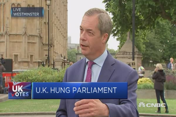 Farage: Would have to return to front line if Brexit was threatened