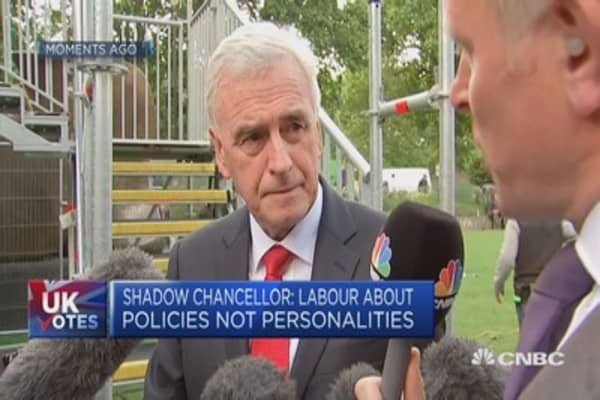 Shadow chancellor: Want mutual respect in Brexit negotiations