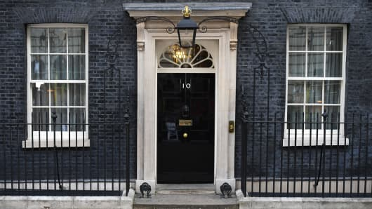 10 Downing Street on June 9, 2017 in London, England.