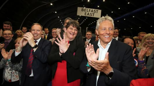 DUP and Sinn Fein make gains as SDLP and Alliance falter