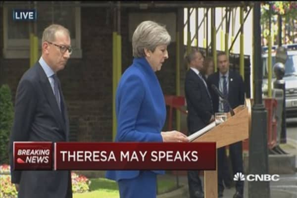 May: This government will guide the country through Brexit