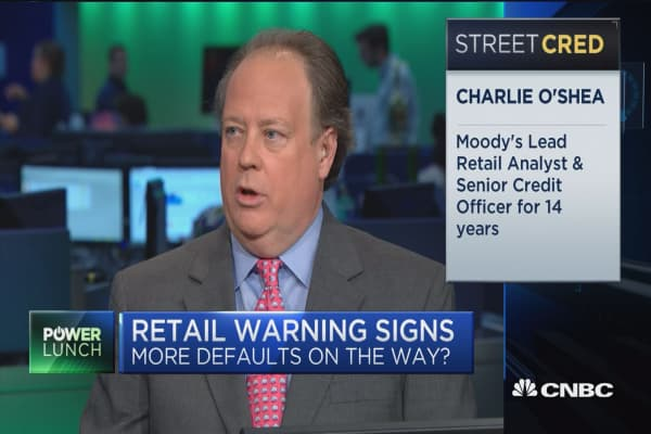 Trouble spots are growing in retail: Moody