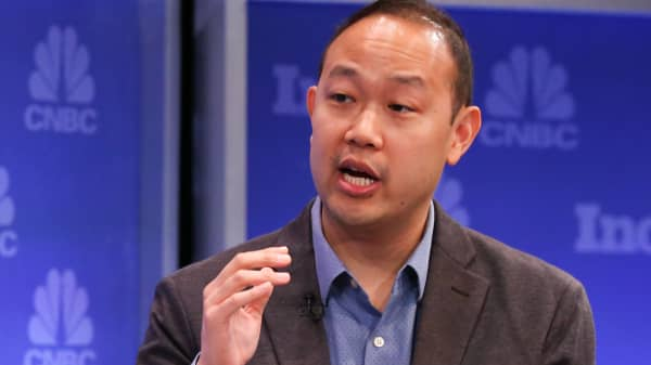 Chieh Huang, founder and CEO of Boxed.