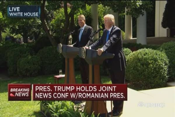 Trump: I didn't ask Comey to pledge allegiance to me