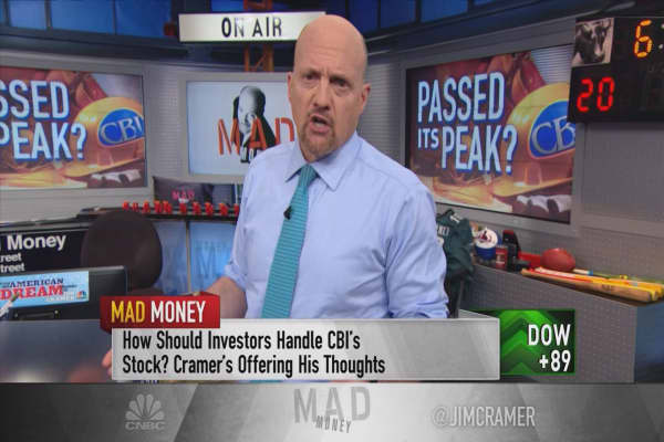 Cramer sifts through CB&I's mess to find what's pushing the Trump stock lower