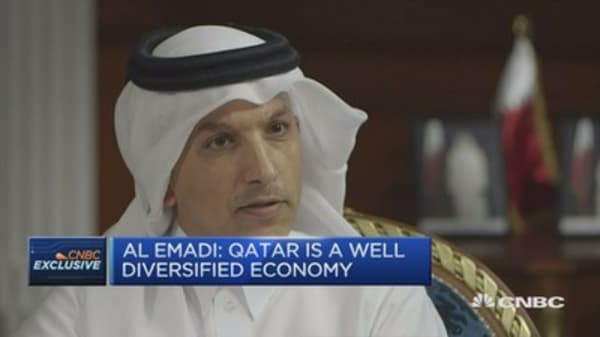 Qatar is a 'well-diversified economy' says finance minister
