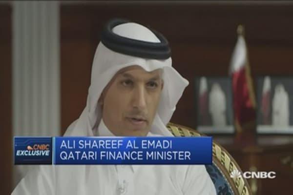 We will not be manipulated: Qatari FinMin