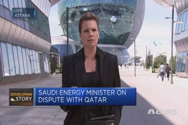 : Saudi energy minister