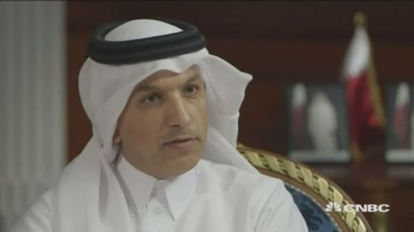 We can defend our currency: Qatari finance minister