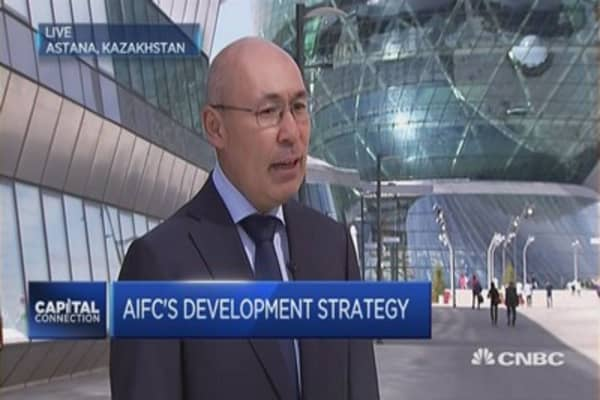 Kazakhstan wants to be the Singapore of Central Asia