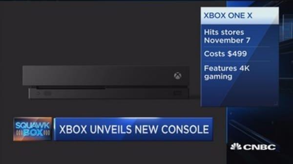 Xbox unveils top secret console 'Project Scorpio'