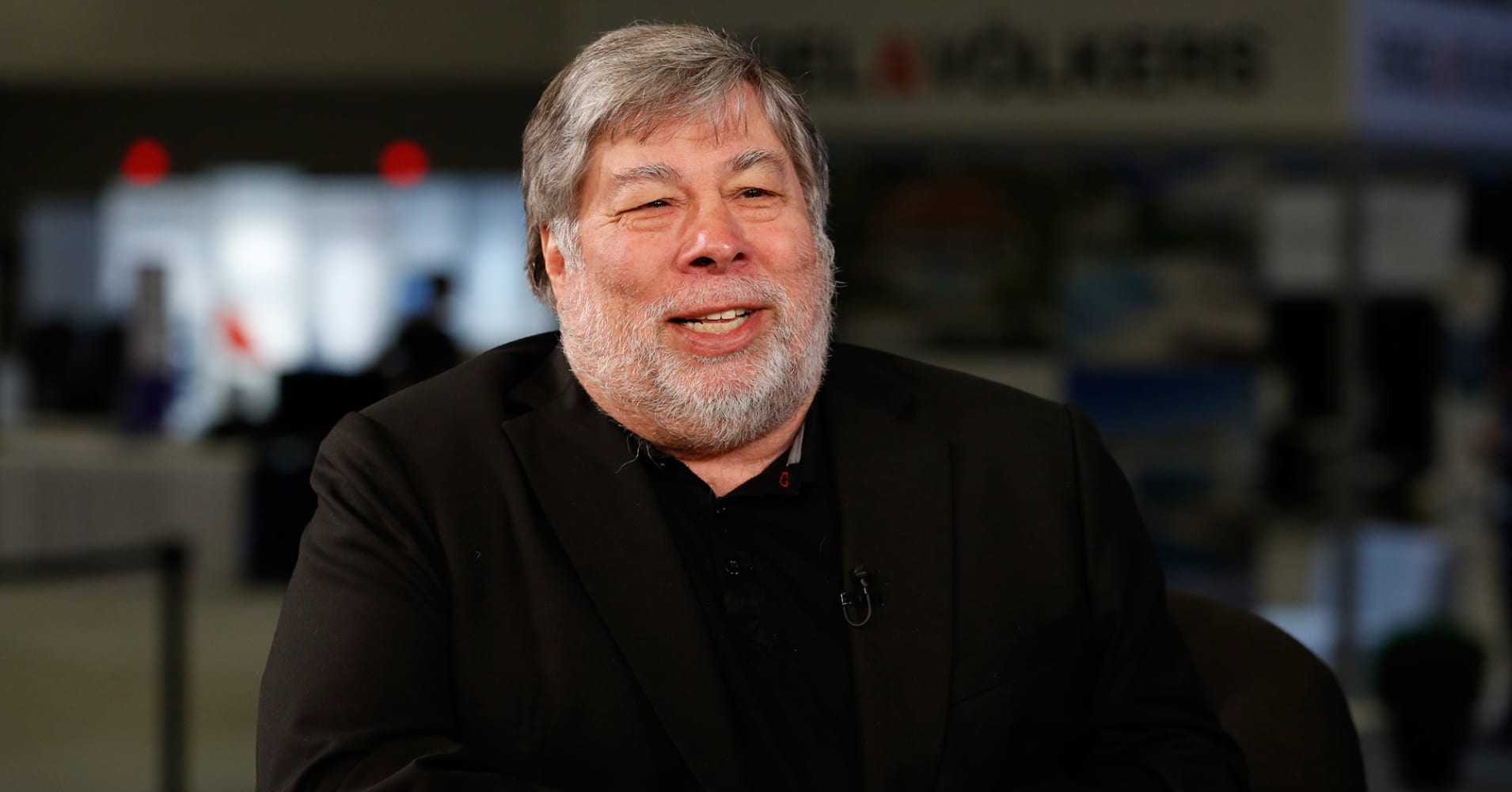 Steve Wozniak speaking at eMerge in Miami on June 12, 2017.
