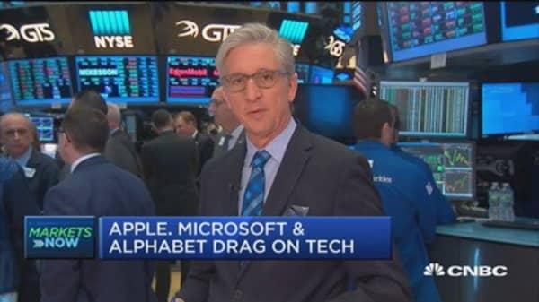 Markets open lower as tech stocks take a hit