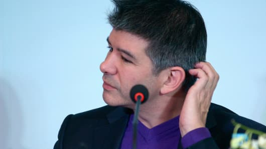 Travis Kalanick, CEO of the global ridesharing service Uber.