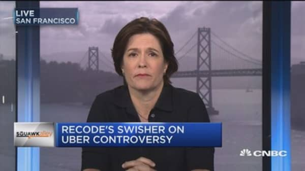Recode's Swisher: Uber likely to overhaul Kalanick, not get rid of him