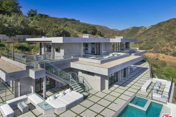 A home in Malibu, California.