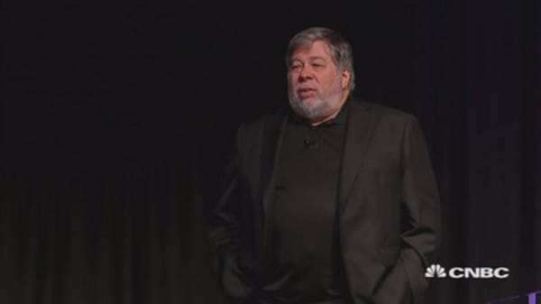 Apple co-founder Steve Wozniak on bitcoin and blockchain