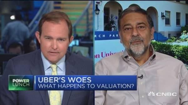 Uber CEO 'has to go': Carnegie Mellon professor