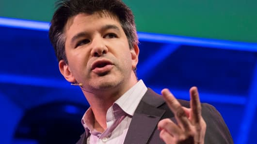 Travis Kalanick, chief executive officer of Uber Technologies.