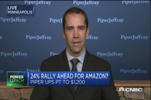 Piper Jaffray raises Amazon price target