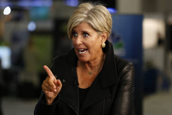Suze Orman speaking at the eMerge Americas conference in Miami on June 12, 2017.