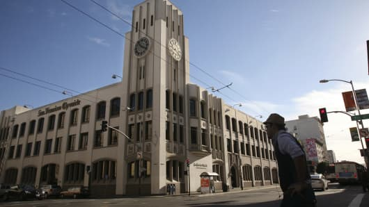 The San Francisco Mint is a branch of the United States Mint and was opened in to serve the gold mines of the California Gold Rush. It quickly outgrew its first building and moved into a new one in