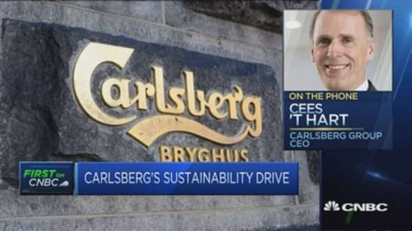 Even more energized by Paris climate accord after Trump's withdrawal: Carlsberg
