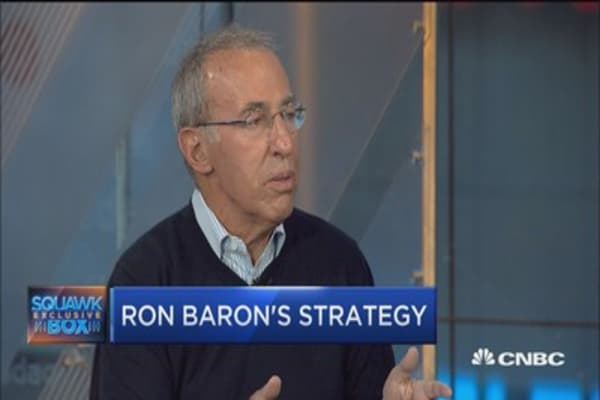 Ron Baron: Expect market and US economy to double