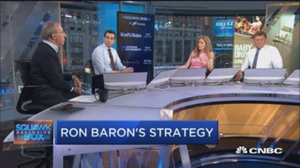 Billionaire Ron Baron defends Tesla's decision to acquire SolarCity