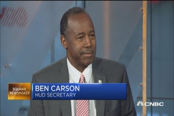 HUD's Ben Carson on the state of housing and health care