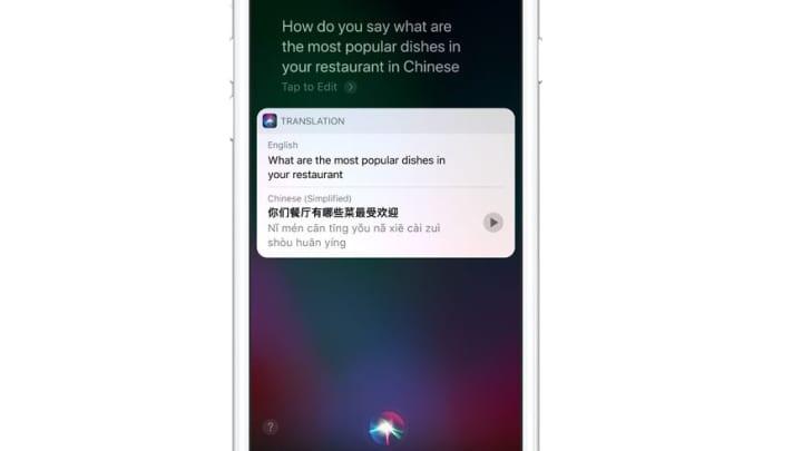 Handout: iOS 11 translate