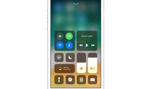 Handout: iOS 11 control center