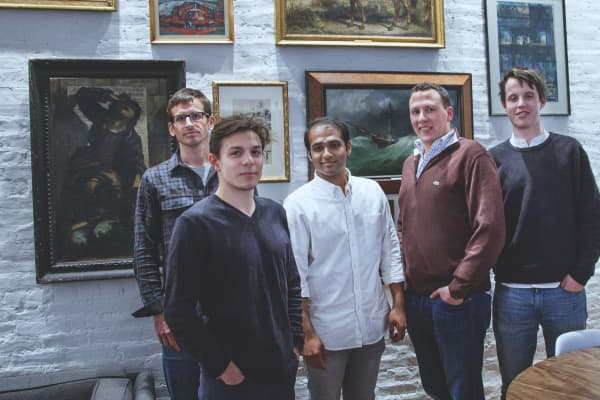 Casper co-founders Jeff Chapin, Gabe Flateman, Neil Parikh, Philip Krim and Luke Sherwin