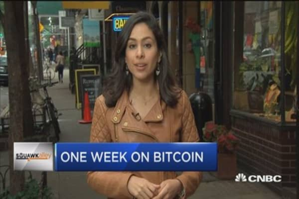 Living for one week on bitcoin in NYC