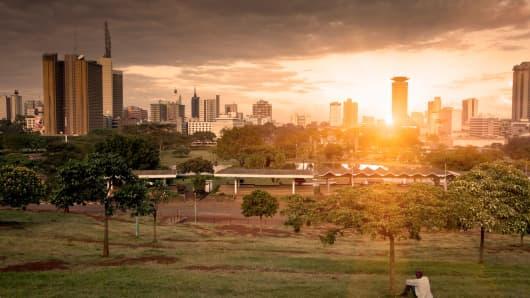 Nairobi, Kenya skyline