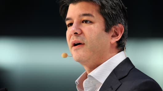 Uber CEO takes leave of absence amid crises