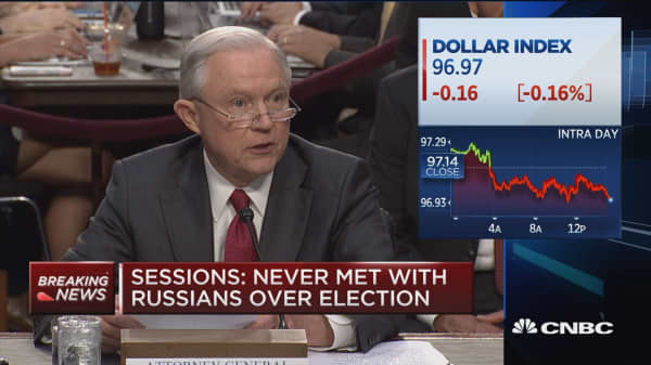 AG Sessions: My recusal was result of DOJ regulation