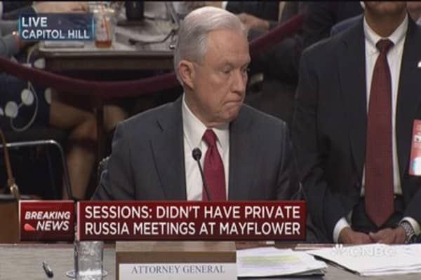AG Sessions: I have confidence in Robert Mueller