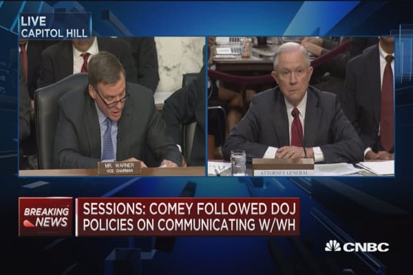 AG Sessions: Just don't recall encounter with Kislyak at Mayflower Hotel