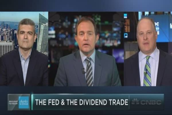 Fed statement to heat up dividend stocks?
