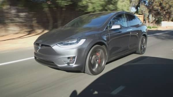 Tesla's Model X received a perfect score for safety