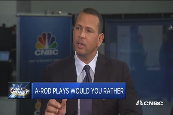 Melissa Lee catches up with baseball legend Alex Rodriguez