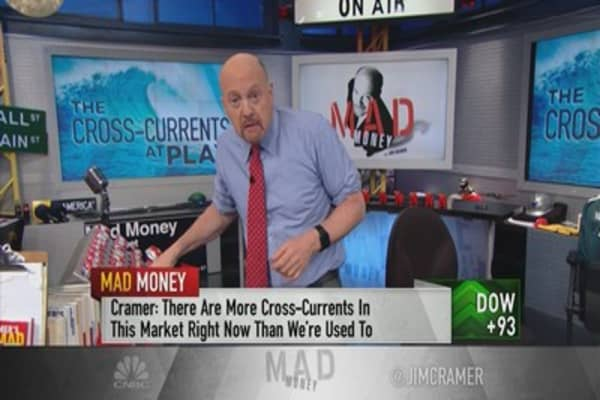 Cramer breaks down the market's cross-currents to make sense of the selloff