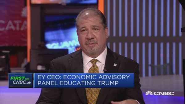 Trump administration will do everything it can to reform taxes: EY CEO