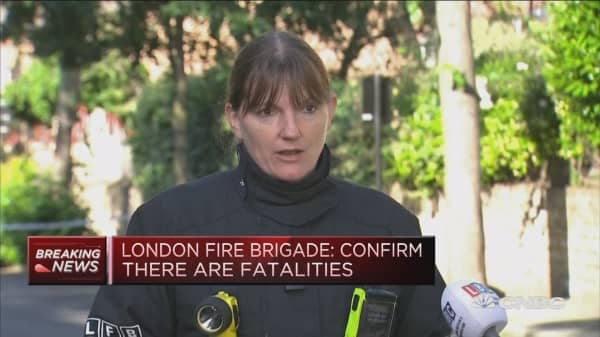 Number of fatalities in Grenfell Tower fire: London Fire Commissioner