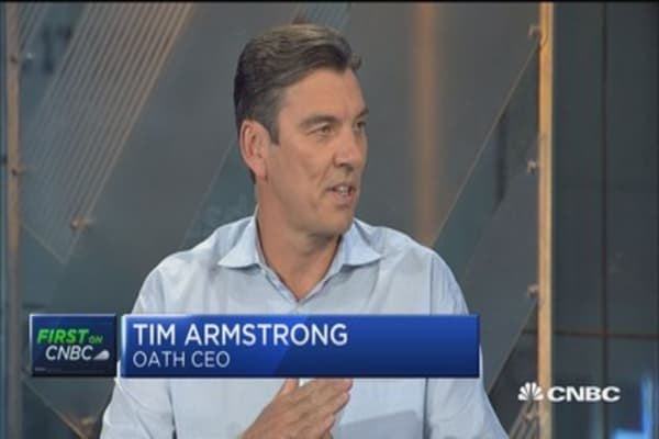 Tim Armstrong takes 'Oath' of office