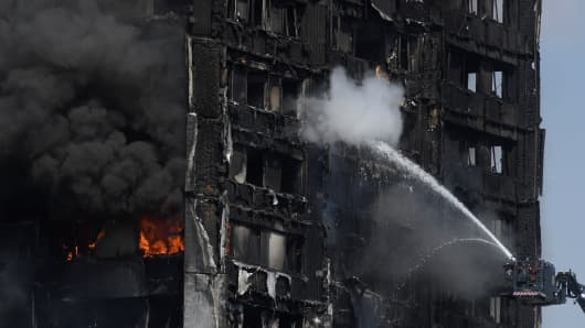 London on fire: Several Fatalities and many more hospitalized