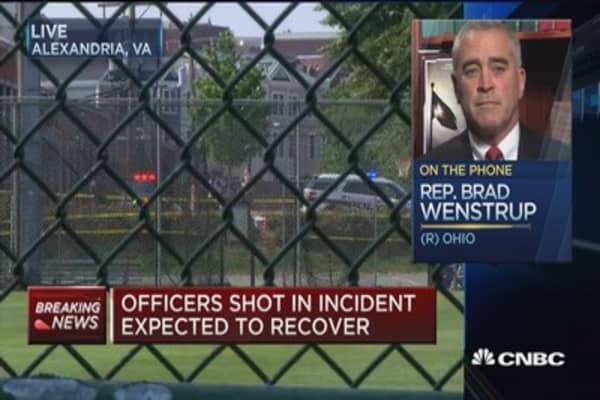 Rep. Wenstrup: Shooter was beyond dugout, kept moving