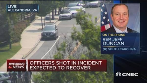Rep. Duncan: I was asked if the team was Republicans or Democrats before shooting